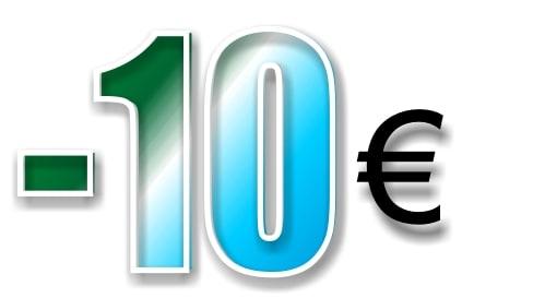 Te regalamos 10 € al hacer una compra de 120 € o más con el cupón EXTRA10. Y sí, es acumulable con la oferta del -15% (Hasta el 30 de septiembre 2019)