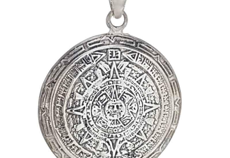 Colgante Calendario Azteca – Piedra del Sol