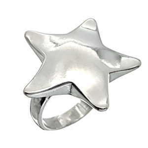 Anillo Estrella de plata 925