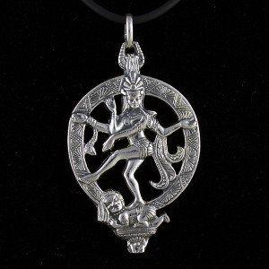 Colgante Dios Shiva en plata