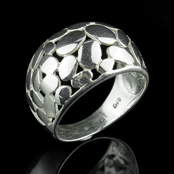 Anillo Sortija Plata de Ley 925 Mano de Fatima Joyería Anillos Silver