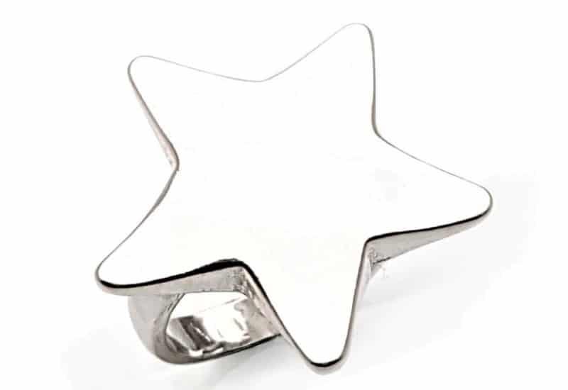 Anillo en Plata de Ley 925 mls – Estrella