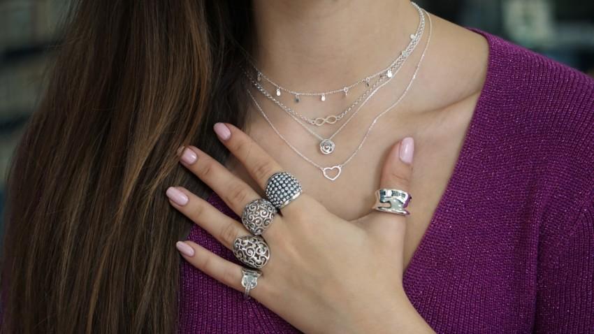 Las joyas son más bellas en plata