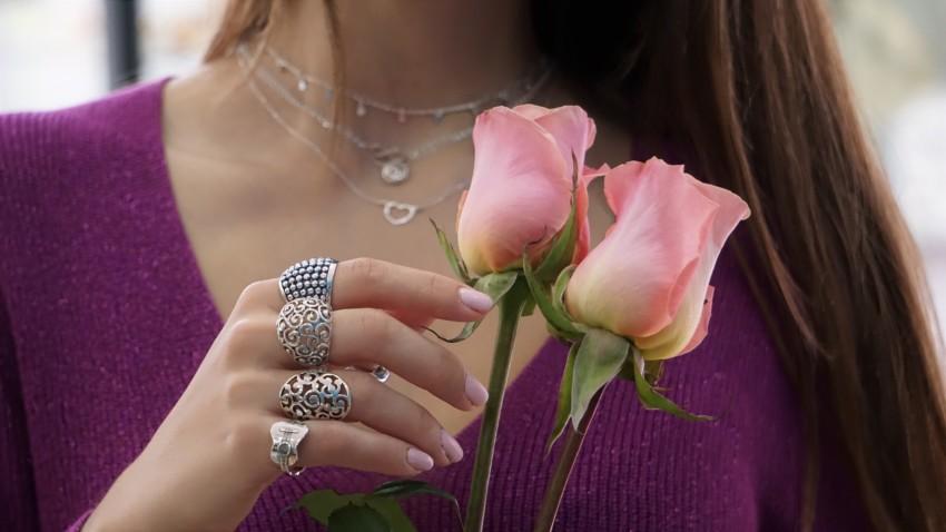 Las joyas de plata perfectas para San Valentín las tienes en LaMinadeplata.com