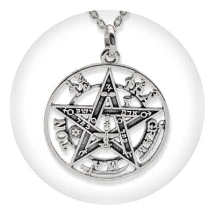 Tetragramatón en plata