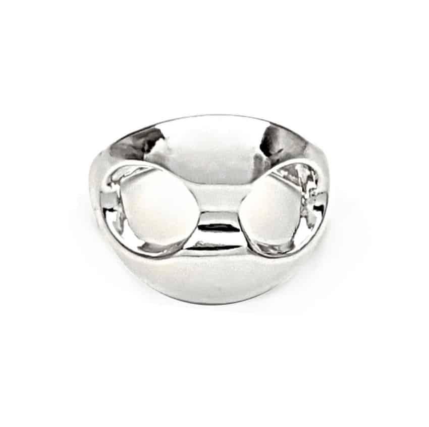 anillo calabrote plata foto principal