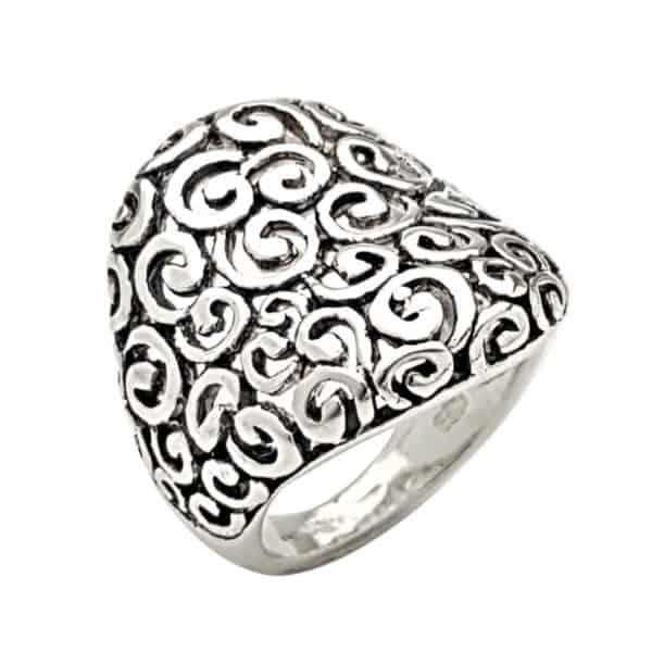 anillo plata 925 bombé espirales (1)