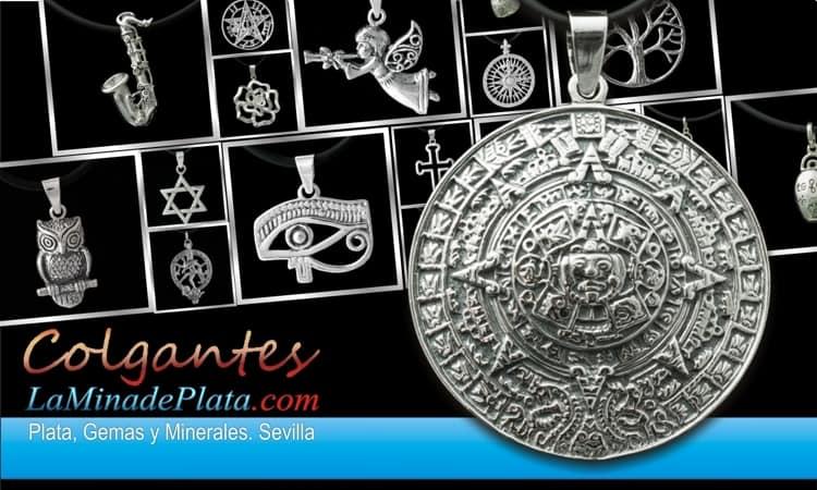 Colgantes de plata