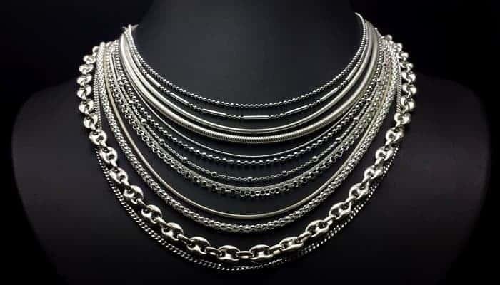 Cadenas de plata