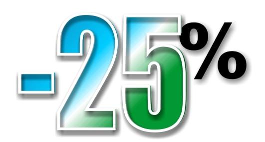 Ahorra el 25% con el cupón AHORRA25