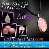 cuarzo rosa, joyas y minerales en cuarzo rosa