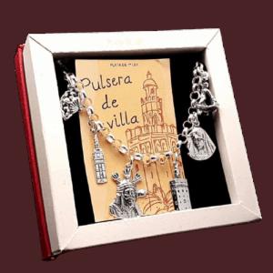Pulsera de Sevilla fabricada en plata
