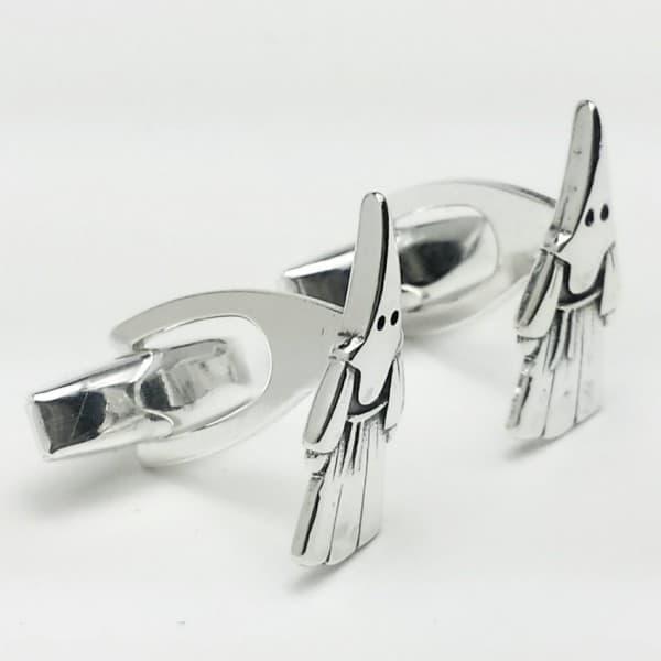 Gemelos del nazareno en plata