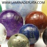 Esferas de piedras naturales en LaMinadePlata.com