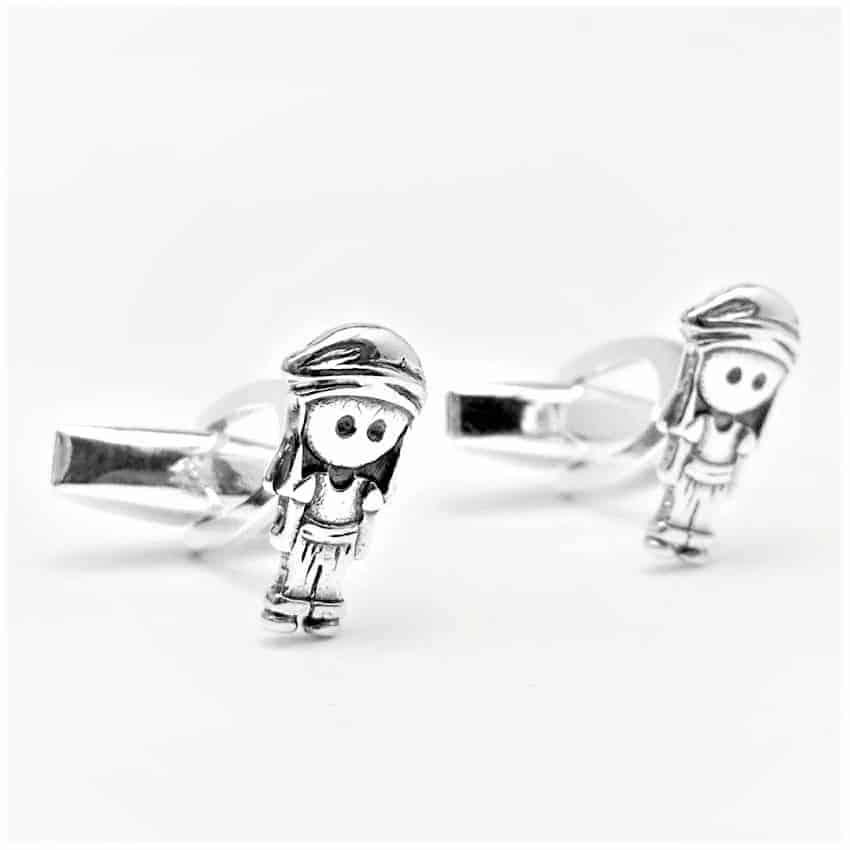 Gemelos del costalero de plata