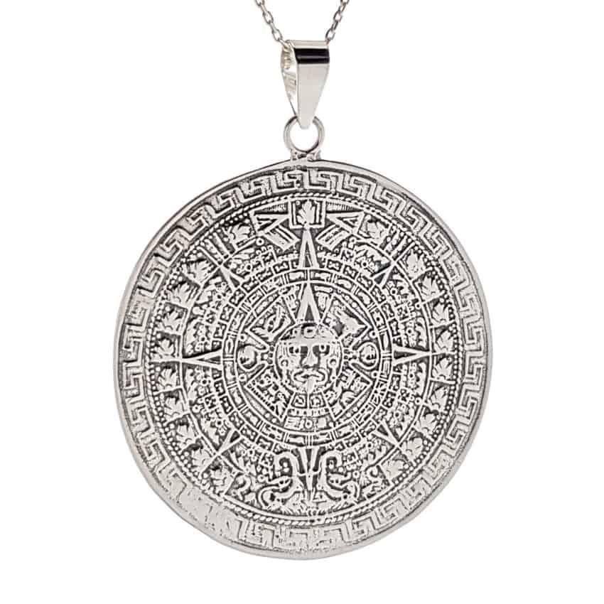 Colgante calendario azteca tamaño grande (2)