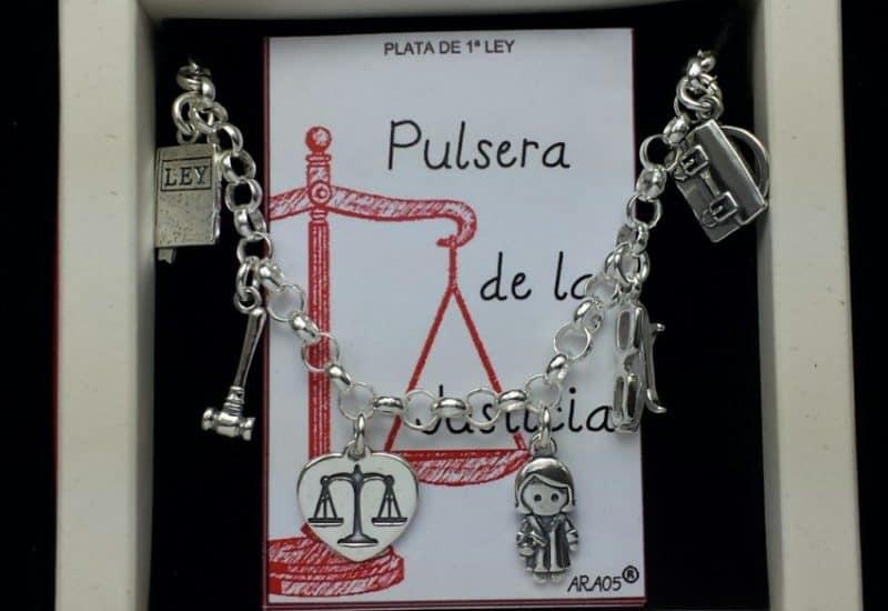 Pulsera de la Justicia fabricada en Plata