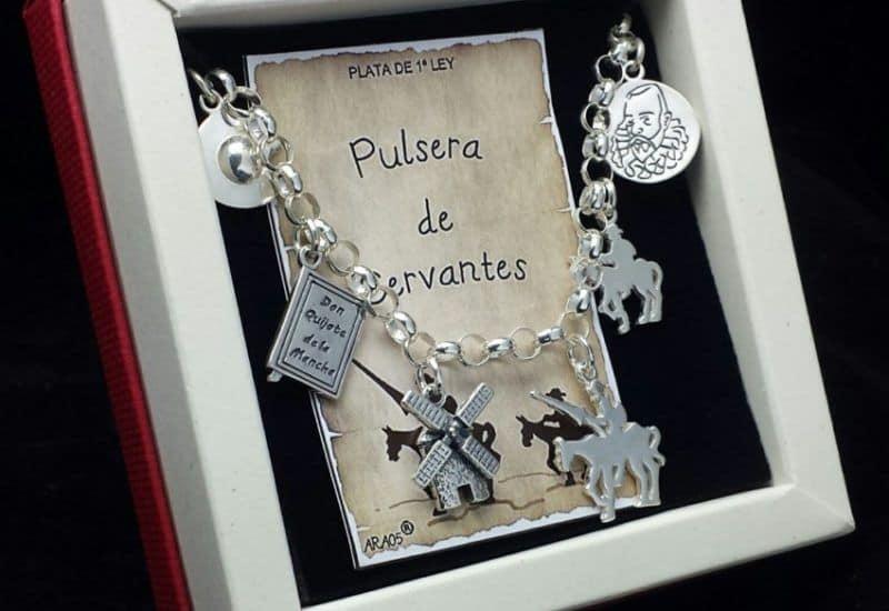 Pulsera de Cervantes fabricada en Plata