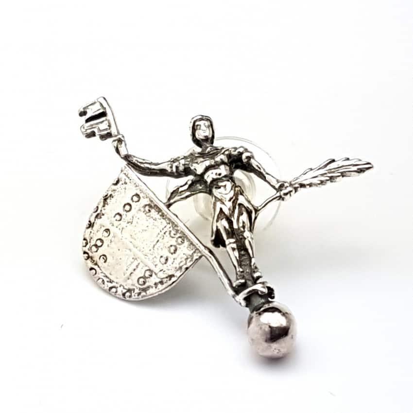 Pin del Giraldillo en plata