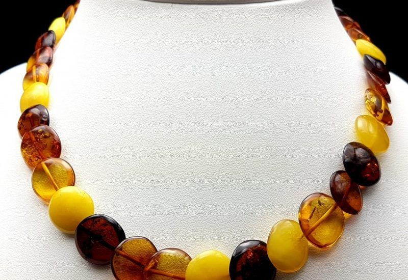 Precioso collar de Ámbar natural