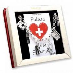 Pulsera de los oficios y aficiones en plata. Joyas hechas en España