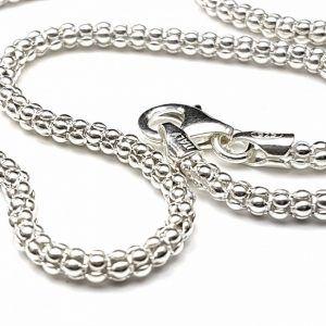 Joyas de plata, cadenas