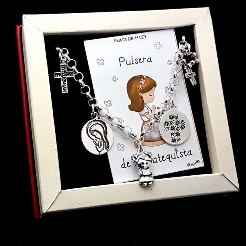 Pulsera de la Catequista en plata.