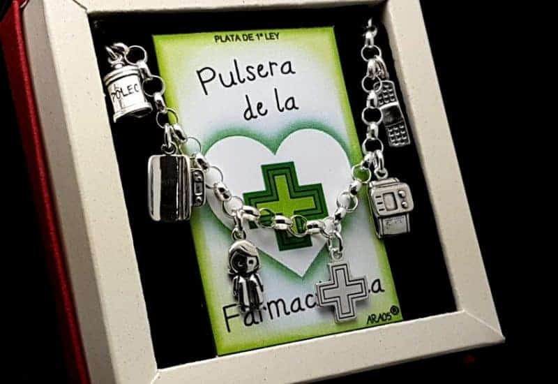 Pulsera de Farmacéutica fabricada en Plata