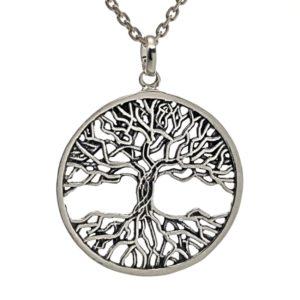 Árbol de la vida en plata 925