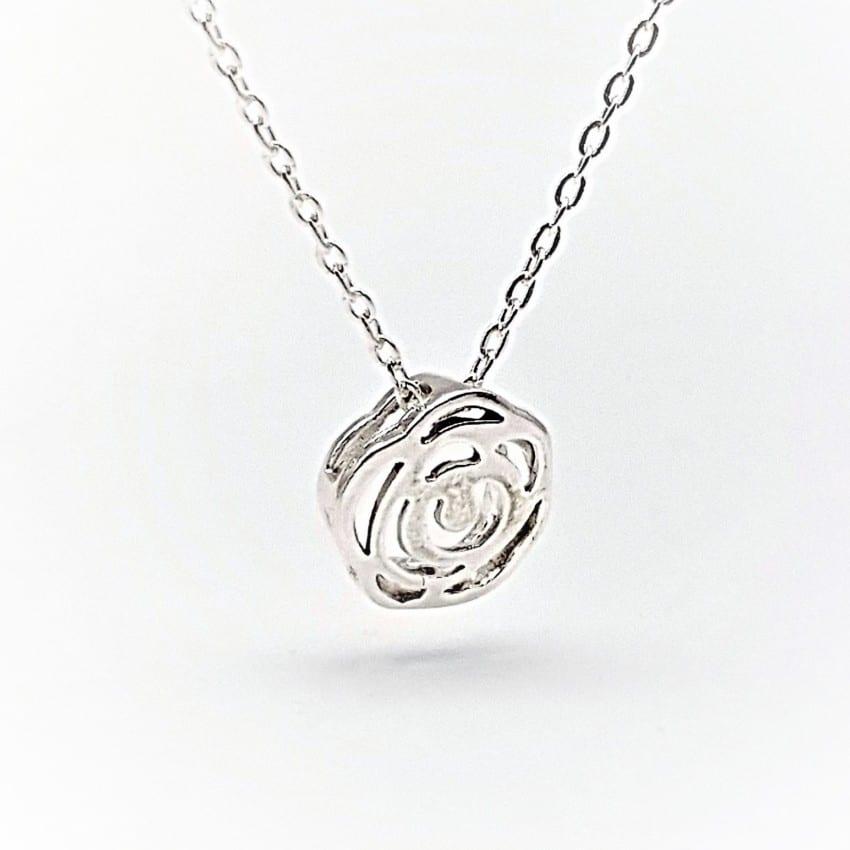 Gargantilla flor de plata (4) – copia