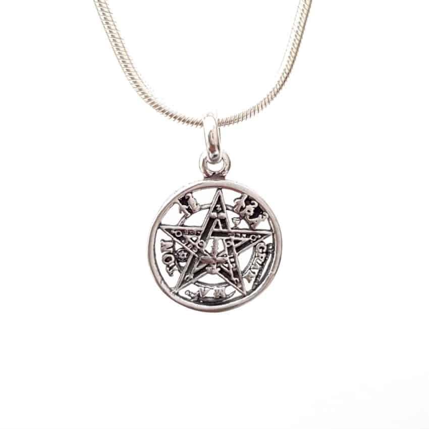 colgante tetragramatón pequeño
