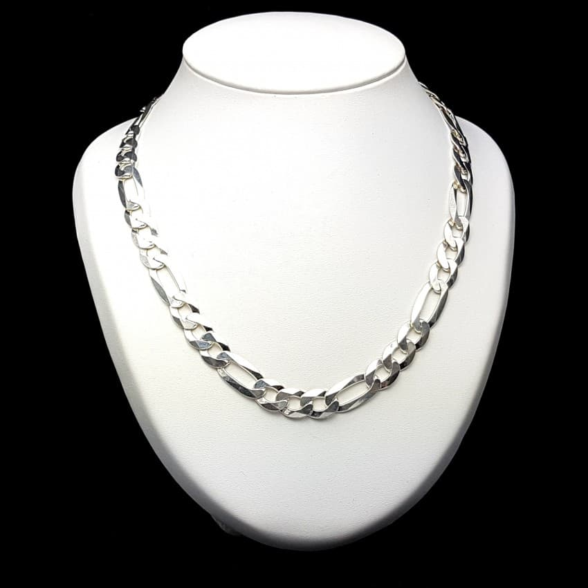 7eb840e7676b Cadena en plata de ley 925 mls- Cartier 3-1 60 cm