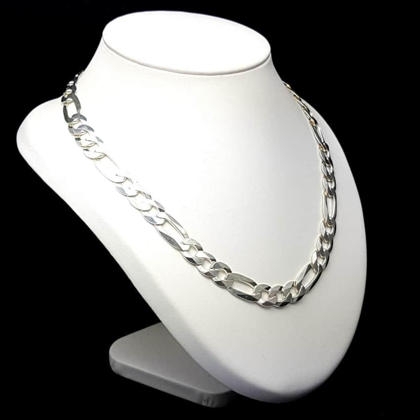 bf09fe50d627 Cadena en plata de ley 925 mls- Cartier 3-1 50 cm