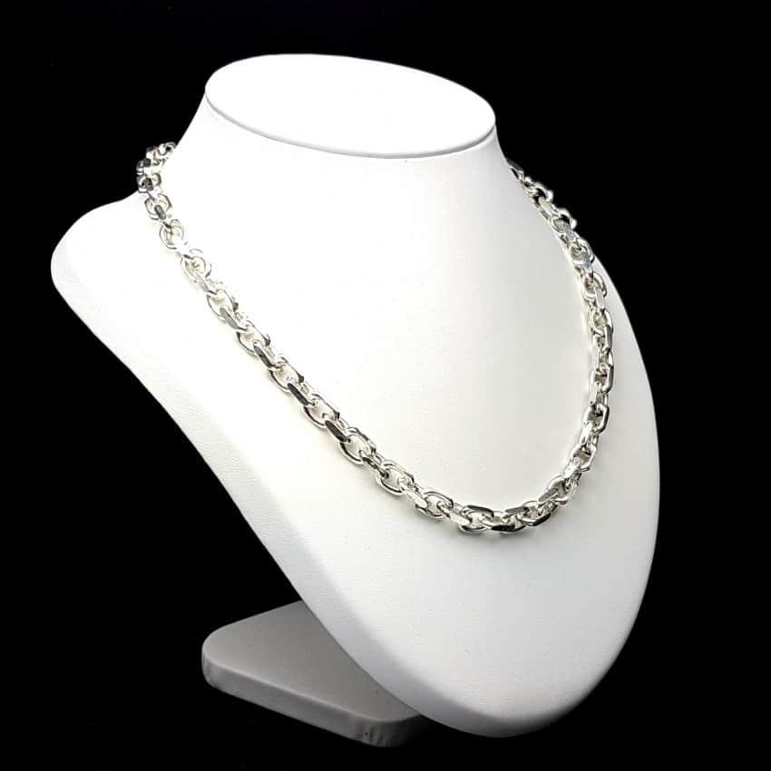 Cadena de plata Forzada 65 cm