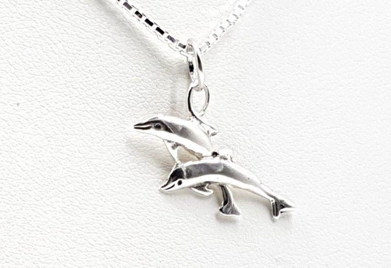 Colgante en Plata de Ley 925 mls – Delfín