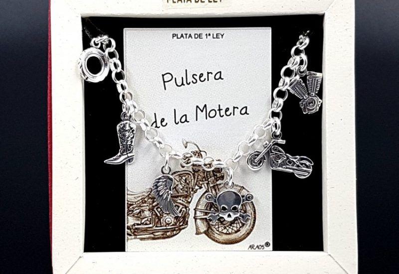 Pulsera de La Motera fabricada en plata de ley