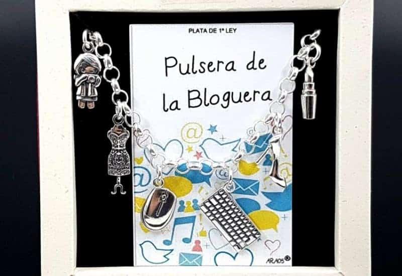 Pulsera de La Bloguera fabricada en plata de ley