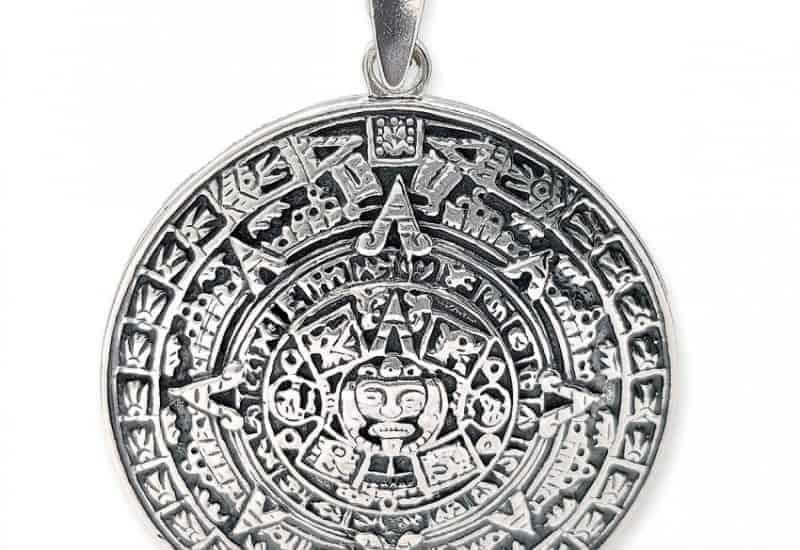 Colgante Calendario Azteca- Piedra del Sol