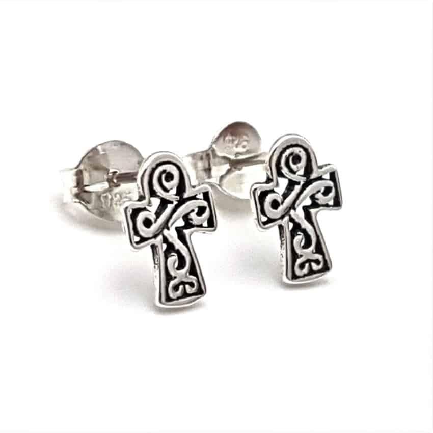 pendientes cruz celta
