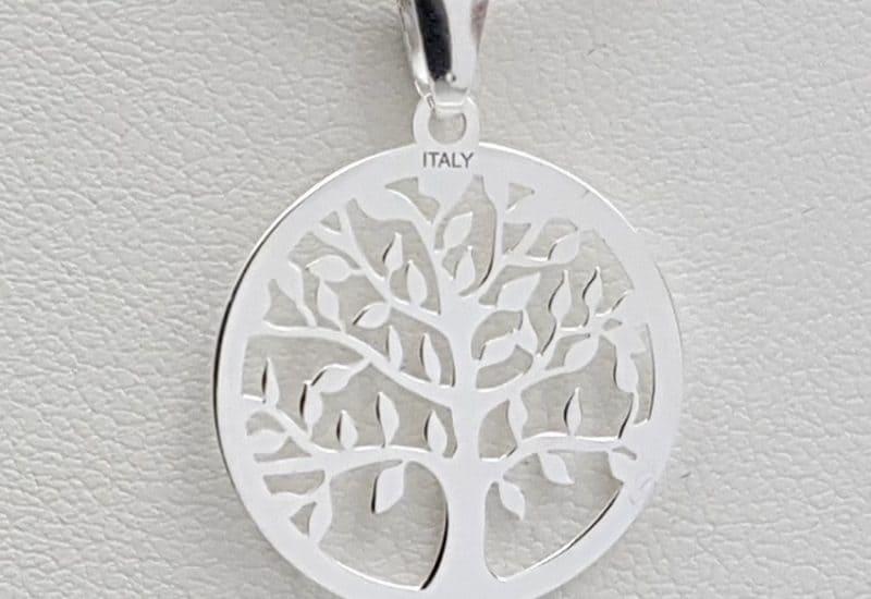 Colgante fabricado en plata de ley- Árbol de la Vida