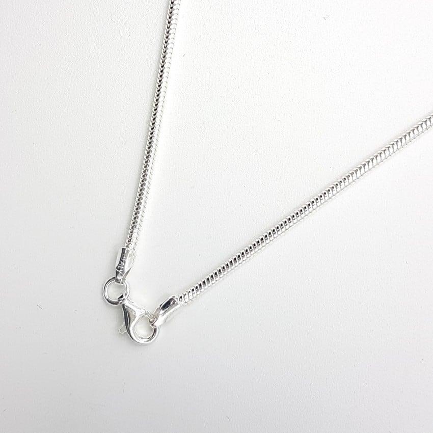Cadena de plata, TOPO 80 CM