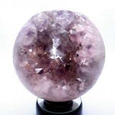 Esfera geoda cuarzo amatista