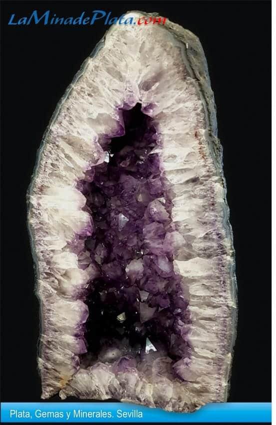Geoda de cuarzo amatista