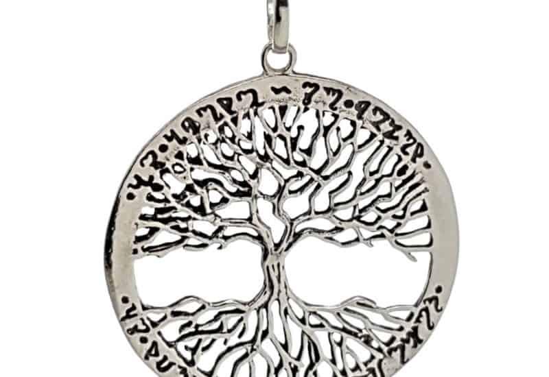 Colgante fabricado en plata – Árbol de la vida