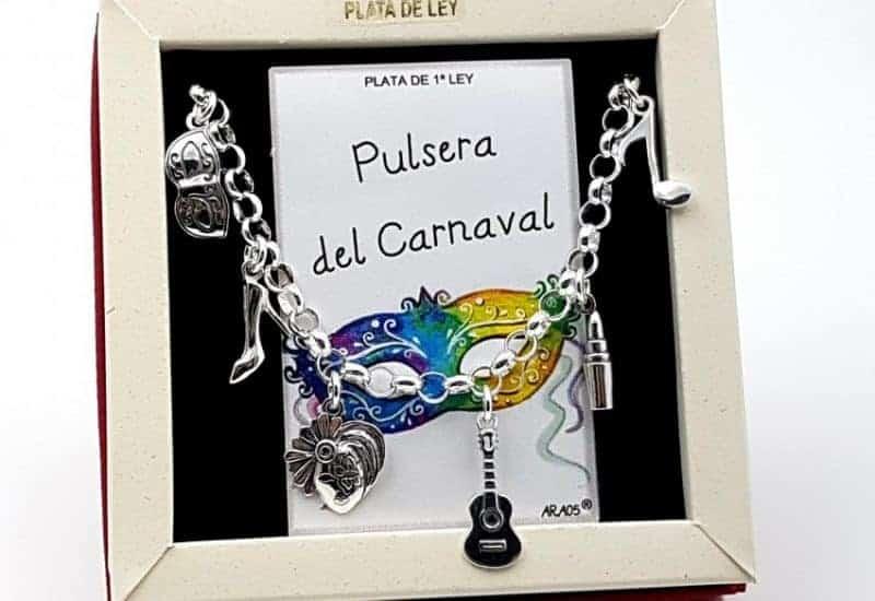 Pulsera del Carnaval fabricada en plata