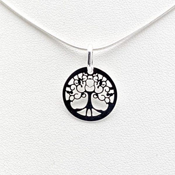 Colgante árbol de la vida en plata