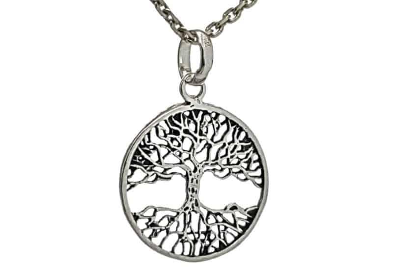 Colgante Árbol de la Vida fabricado en plata de ley