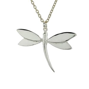Colgante libélula de plata 925 (5)