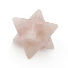 Estrella merkaba de cuarzo rosa (2)