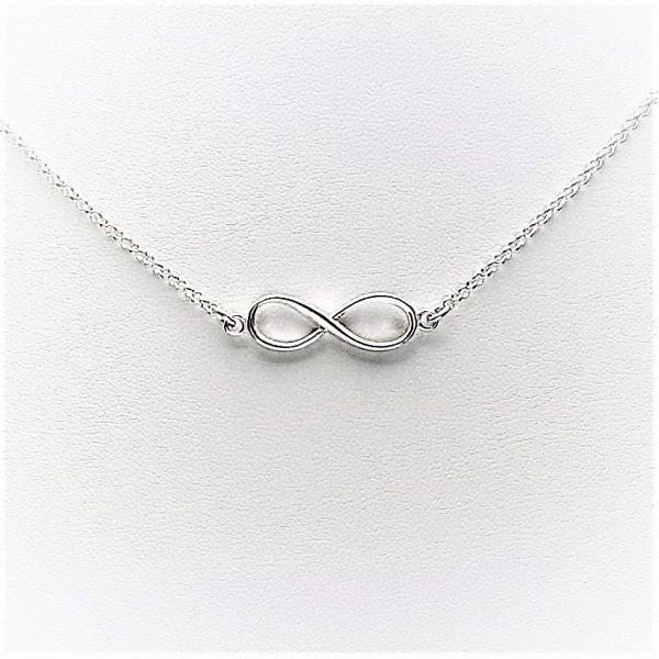 collar gargantilla infinito en plata